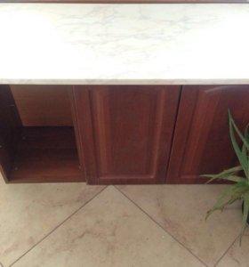 Шкафчики со столешницей кухонные новые