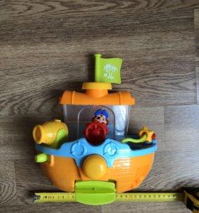 Корабль. Игрушка для ванны