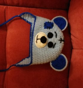 Шапка мишка Тедди