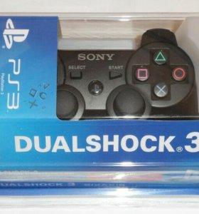 Джойстики  Dual shock 3 на PS3.