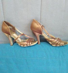 Туфли для бальных танцев, р 35