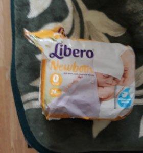 Подгузники Libero 0 до 2,5 кг 17 шт