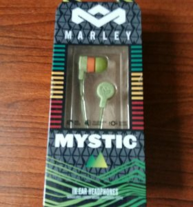 Наушники Marley Mystic In-Ear. Green