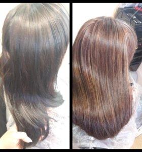 Услуги опытного парикмахера