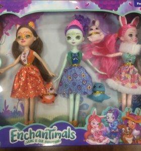 Enchantimals куклы набор энчантималс
