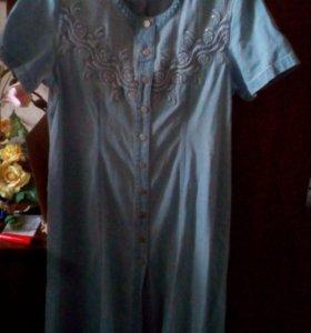 Платье джинсовое (торг уместен)