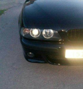 BMW E39 передние фары оригинал Hella ксенон