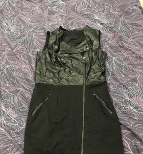 Платье-жилетка
