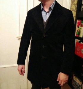 Замшевое мужское пальто Zellman
