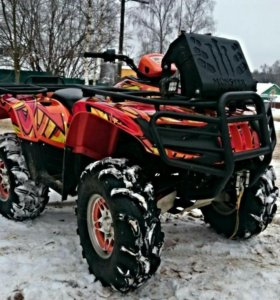 Квадроцикл Arctic Cat 650 разбор