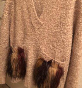 Плотный свитер от ZARA