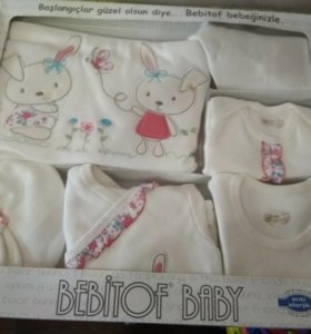 Новый подарочный набор с одеждой для новорожденной
