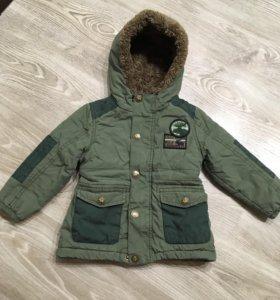 Куртка детская на мальчика весна-осень, утепленная