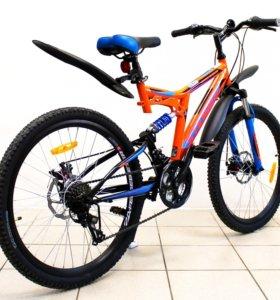 Велосипед Stinger Highlander 24D. Новый