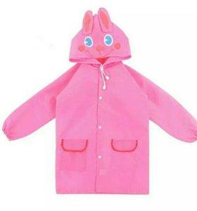 Плащ Дождевик Розовый Кролик