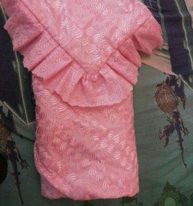 Одеяло на выписку весна