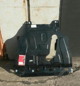 Защита картера двигателя и КПП на Chevrolet Lanos