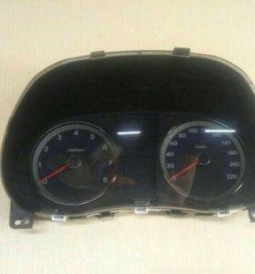 Панель приборов Hyundai Solaris АКПП