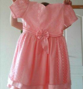 Платье (на возраст 5-6-7) лет