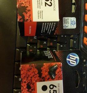 Новые картриджи HP 652 для принтера
