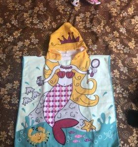 Полотенце халат для моря