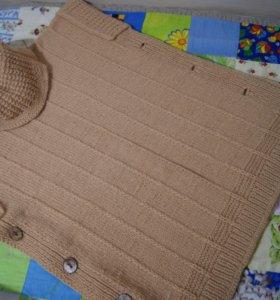 Кофта накидка пончо свитер