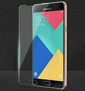 Защитное стекло на Samsung galaxy j3 2016