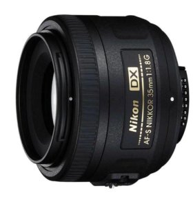 Объектив Nikon AF-S DX nikkor 35 mm f/1.8 G