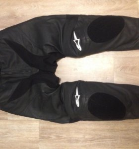 Мотоштаны кожаные Alpinestars GP Plus (новые)