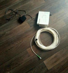 роутер и кабель