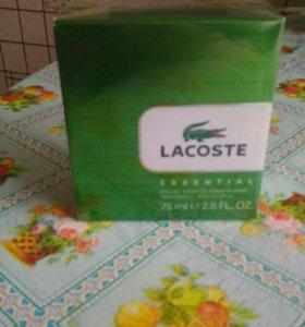 Туалетная вода Lacoste Essential мужской, 75 мл