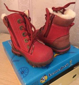 Детские ботинки, ботинки зимние