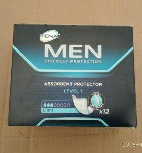 Прокладки для мужчин tena