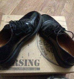 Ботинки под офисную форму