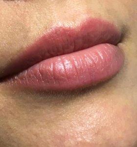 Татуаж, Перманентный макияж губ