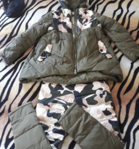 Костюм зимний куртка и штаны