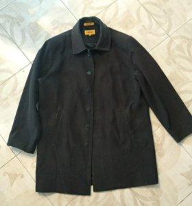 пальто плащ, пиджак шерстяной, брюки синтепон