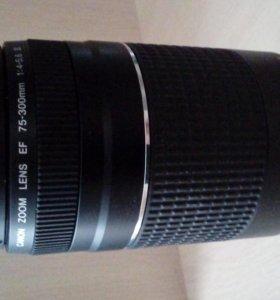 Объектив Canon EF 75-300 mm f/ 4-5.6 III
