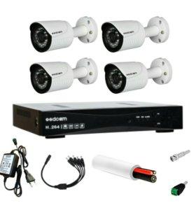 Комплект HD видеонаблюдения 720р