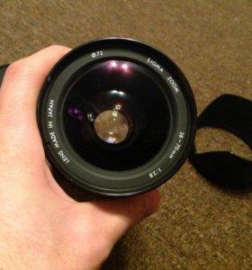Объектив Sigma 28-70 mm F/2.8 ( Canon FD )