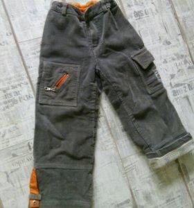 Тёплые джинсы. 116р.