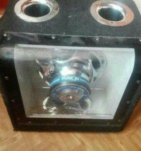 Продам активный WOOFER BOX FUSION