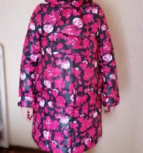 Пальто утепленное для будущей мамы