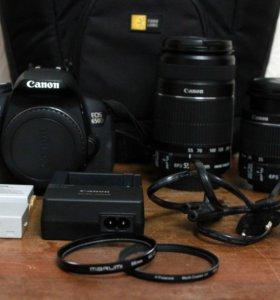 Canon 650D + 18-55 + 2 аккум + фильтр + сумка