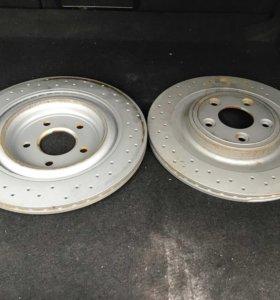 Jaguar XF тормозные диски