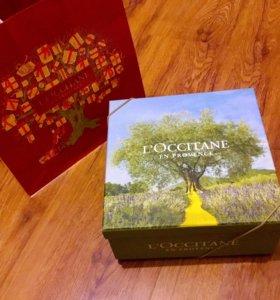 Подарочная коробка L'occitane Локситан и пакет