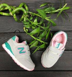 Новые кроссовки new balace для девочки