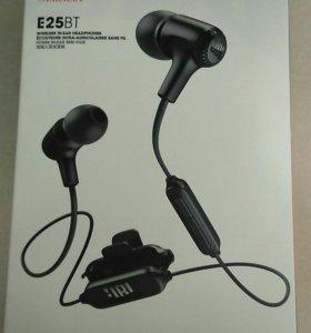 Bluetooth наушники jbl e25bt новые