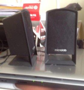 Колонки microlab 2 шт. продаю