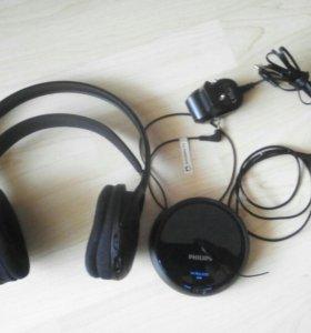 Беспроводные наушникиPhilips SHC5200/10 б/у FM